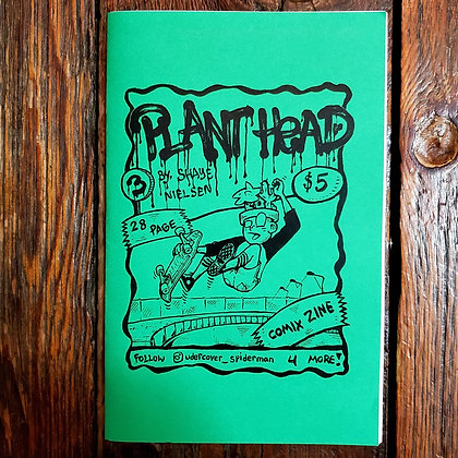 PLANT HEAD #3 - Local Comic Book by Shaye Nielsen