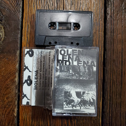 MOLENA : Earn Your Stripes - Cassette Tape (Ltd.22 Copies Writhing Flesh Prod.)