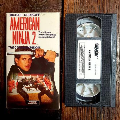 AMERICAN NINJA 2 - VHS