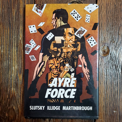 AYRE FORCE Hardcover Graphic Novel