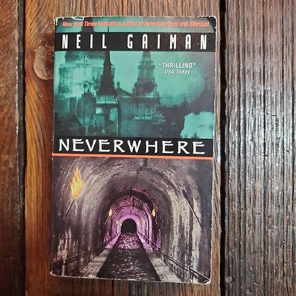 Gaiman, Neil : NEVERWHERE - Paperback