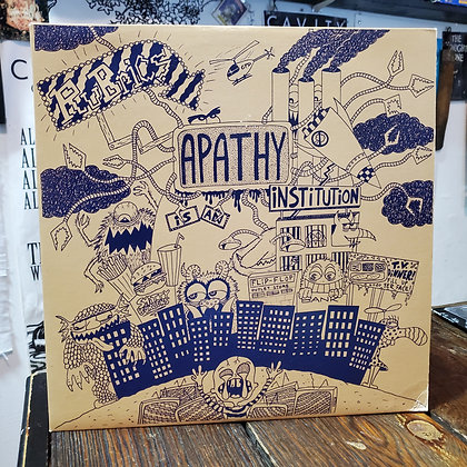 RUBRICS : Apathy Is An Institution - Vinyl LP