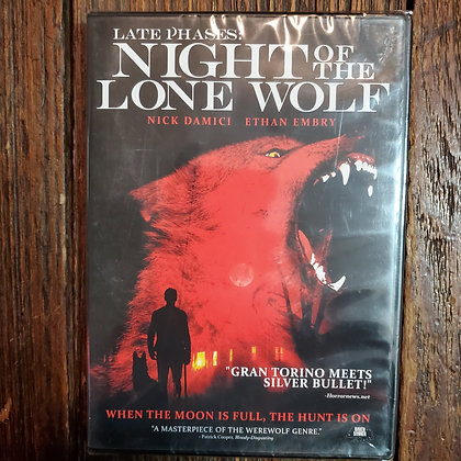 LATE PHASES : NIGHT OF THE LONE WOLF DVD