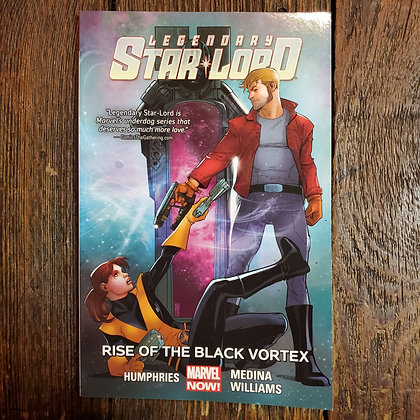 LEGENDARY STAR-LORD Rise of the Black Vortex (Graphic Novel #2)