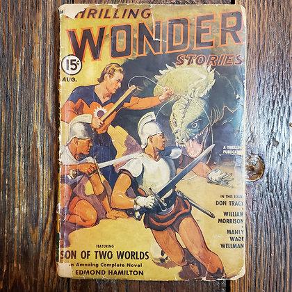 Thrilling WONDER Stories - August 1941