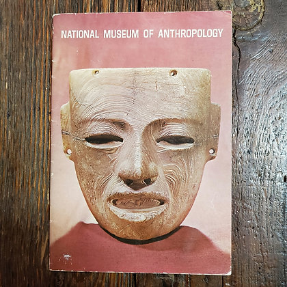 NATIONAL MUSEUM OF ANTHROPOLOGY - 1967 Mexico Booklet