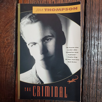 Thompson, Jim : THE CRIMINAL - Softcover Book