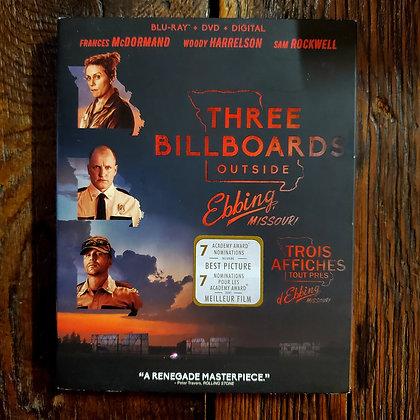 THREE BILLBOARDS OUTSIDE EBBING MISSOURI - Bluray