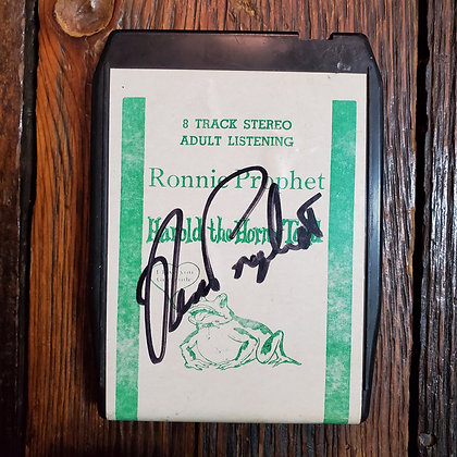 HAROLD THE HORNY TOAD : Ronnie Prophet - Signed Adult Comedy 8 Track Tape