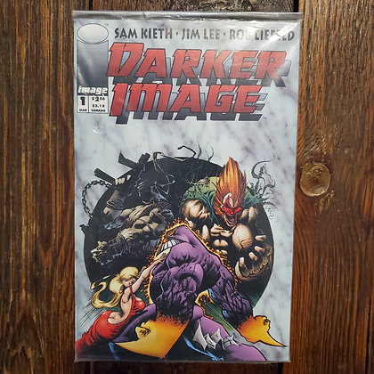 Darker Image Sealed Comic with THE MAXX Trading Card