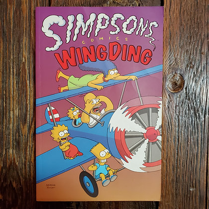 SIMPSONS WINGDING Graphic Novel