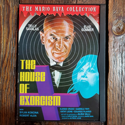 THE HOUSE OF EXORCISM - Mario Bava DVD