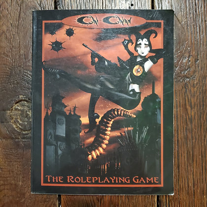 Chi-Chian: The Roleplaying Game Book - (Voltaire 2003 Goth RPG)