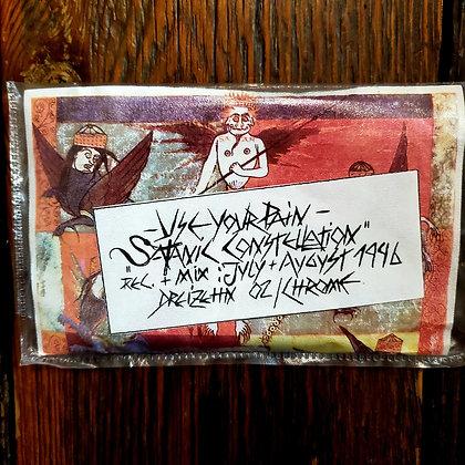 USE YOUR PAIN : Satanic Constellation - Rare Cassette Tape (1996)