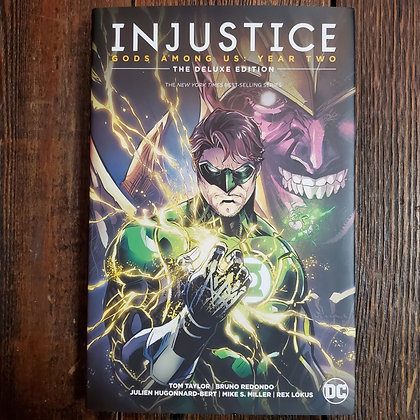 INJUSTICE Gods Among Us : Year Two - Deluxe Edition Hardcover
