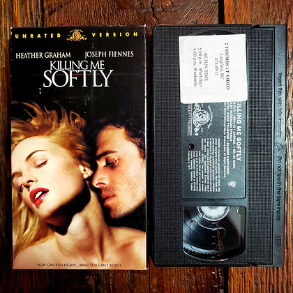 KILLING ME SOFTLY - Unrated VHS