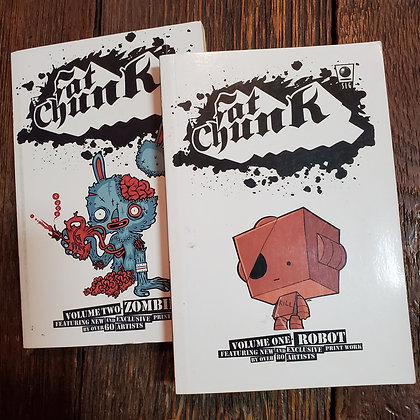 FAT CHUNK Vol.1 & Vol.2 Comics
