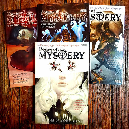 HOUSE OF MYSTERY - Graphic Novel 4 Pack