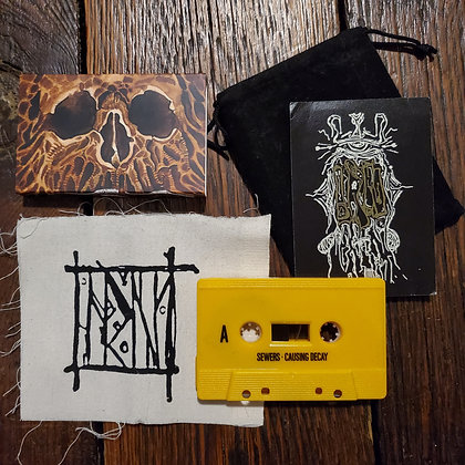 IRN : Sewer Disease - Cassette in Bag + Cloth Patch