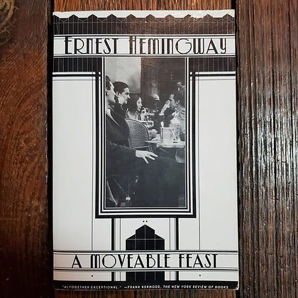Hemingway, Ernest : A MOVEABLE FEAST - Softcover
