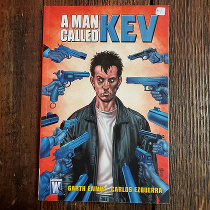 A MAN CALKED KEV #3 Graphic Novel - Garth Ennis / Carlos Ezquerra