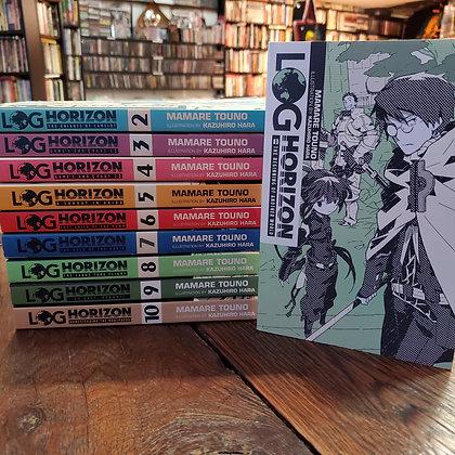 LOG HORIZON #1 to #10 - TEN Book Light Novel Set