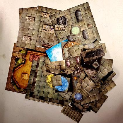 Bag of Random RPG Game Tiles