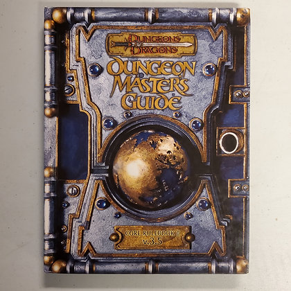D&D DUNGEON MASTERS GUIDE Core Rulebook II v3.5 - Hardcover RPG Book