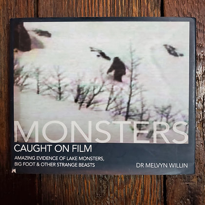 MONSTERS Caught on Film - Hardcover Book