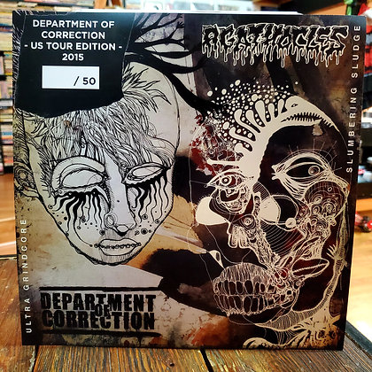 DEPARTMENT OF CORRECTION // AGATHOCLES - Split Vinyl LP