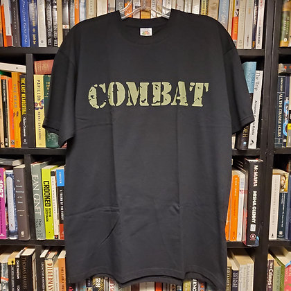 COMBAT RECORDS - (NEW) Size Large Shirt