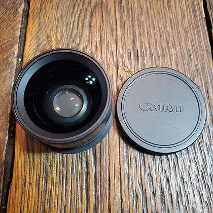Vintage CANON Wide Converter Camera Lense WC-DC52 0.7x