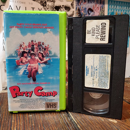 PARTY CAMP - VHS