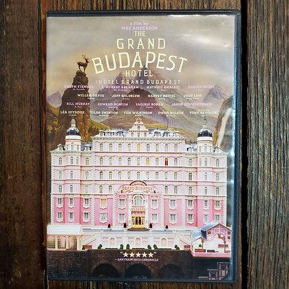 The Grand Budapest Hotel DVD