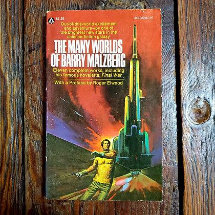 THE MANY WORLDS OF BARRY MALZBERG - Vintage Paperback