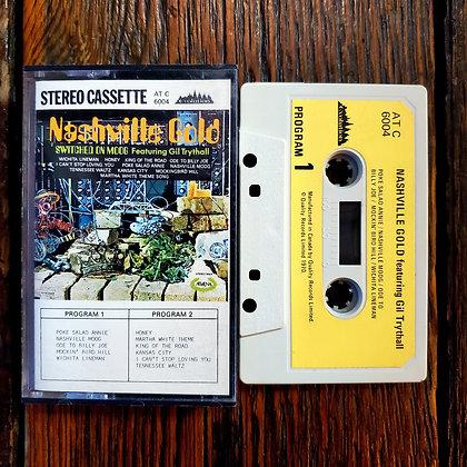NASHVILLE GOLD Switched on MOOG - Gil Trythall Cassette Tape