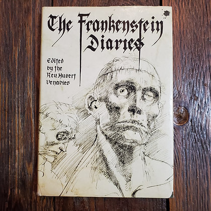 THE FRANKENSTEIN DIARIES 1980 Hardcover