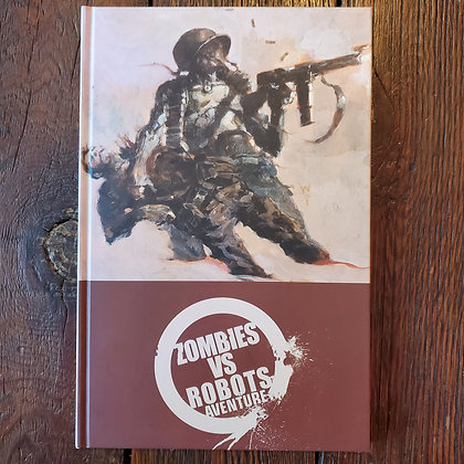 Zombies VS. Robots - Hardcover Book