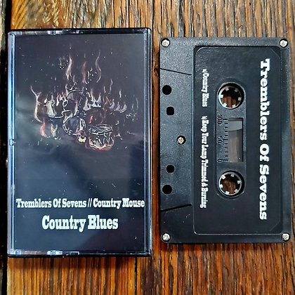 TREMBLERS OF SEVENS / COUNTRY MOUSE - NEW! 2021 Cassette Tape