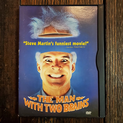THE MAN WITH TWO BRAINS - DVD