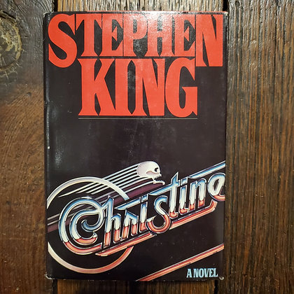 King, Stephen : CHRISTINE - Vintage Hardcover (1983 Book Club Edition)