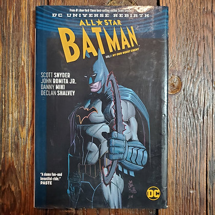 All Star BATMAN : My Own Worst Enemy - Hardcover Graphic Novel Vol.1