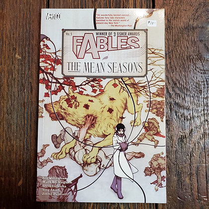 FABLES : The Mean Seasons - Graphic Novel #5