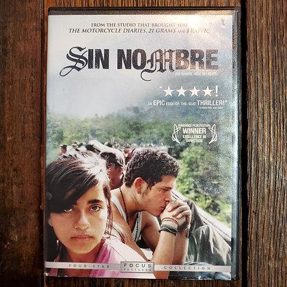 Sin Nombre DVD