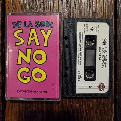 DE LA SOUL : Say No Go - Cassette Tape