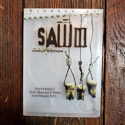 SAW III DVD