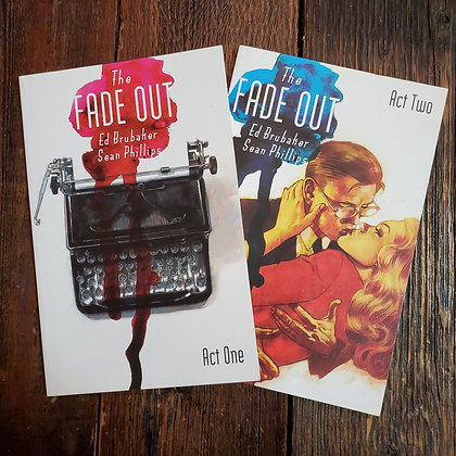 THE FADE OUT : Act One & Two Graphic Novels - Ed Brubaker / Sean Phillips