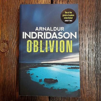Indridason, Arnaldur : OBLIVION - Softcover Book