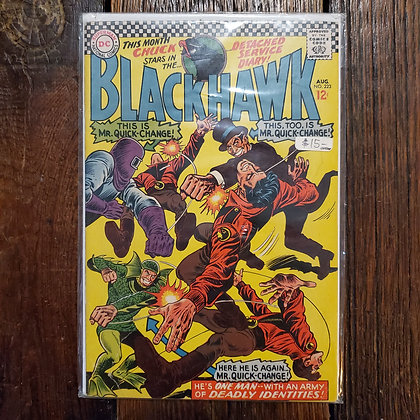 BLACKHAWK #223 - Rare Vintage Comic Book