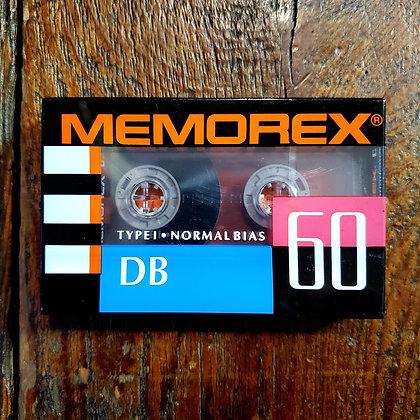 MEMOREX DR 60 Vintage SEALED Blank Cassette Tape